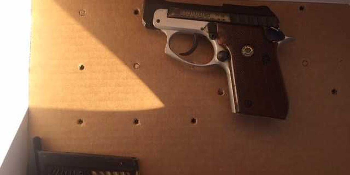 Police: Stolen gun seized in North Charleston
