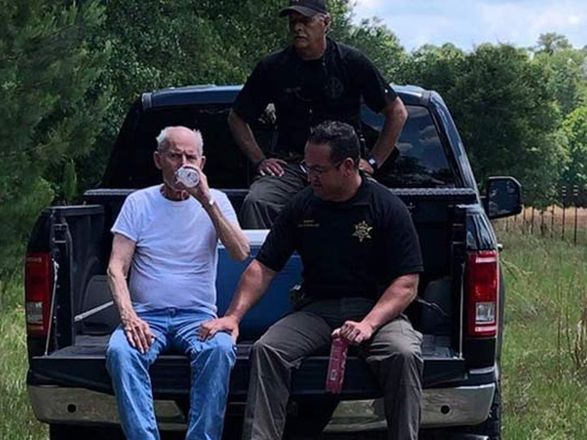 Deputies find missing man who wandered away from home