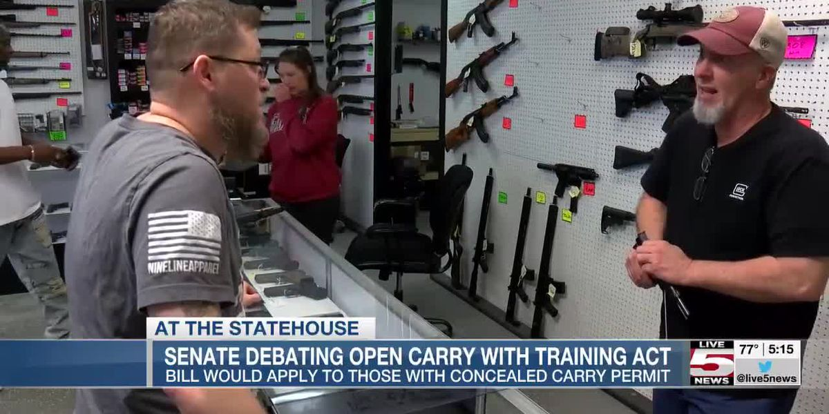 VIDEO: Final vote expected Thursday on state open carry bill