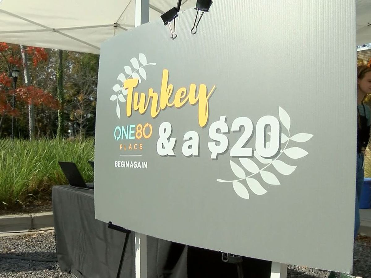 'Turkey and a $20' raising money for homeless in Charleston Tuesday