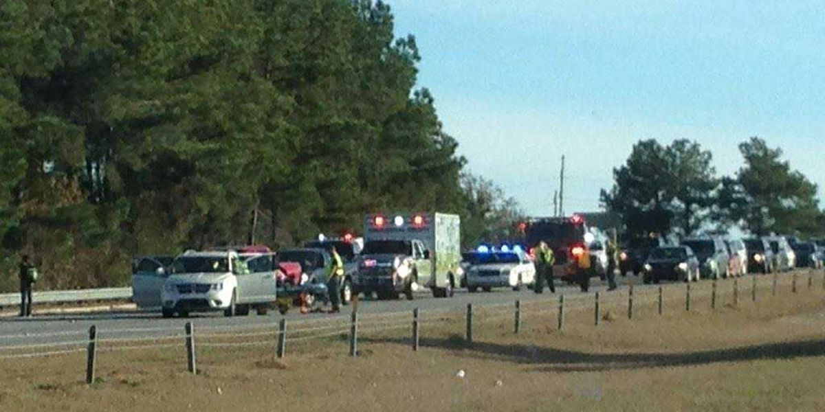Eastbound traffic on I-526 in West Ashley back to normal following wreck