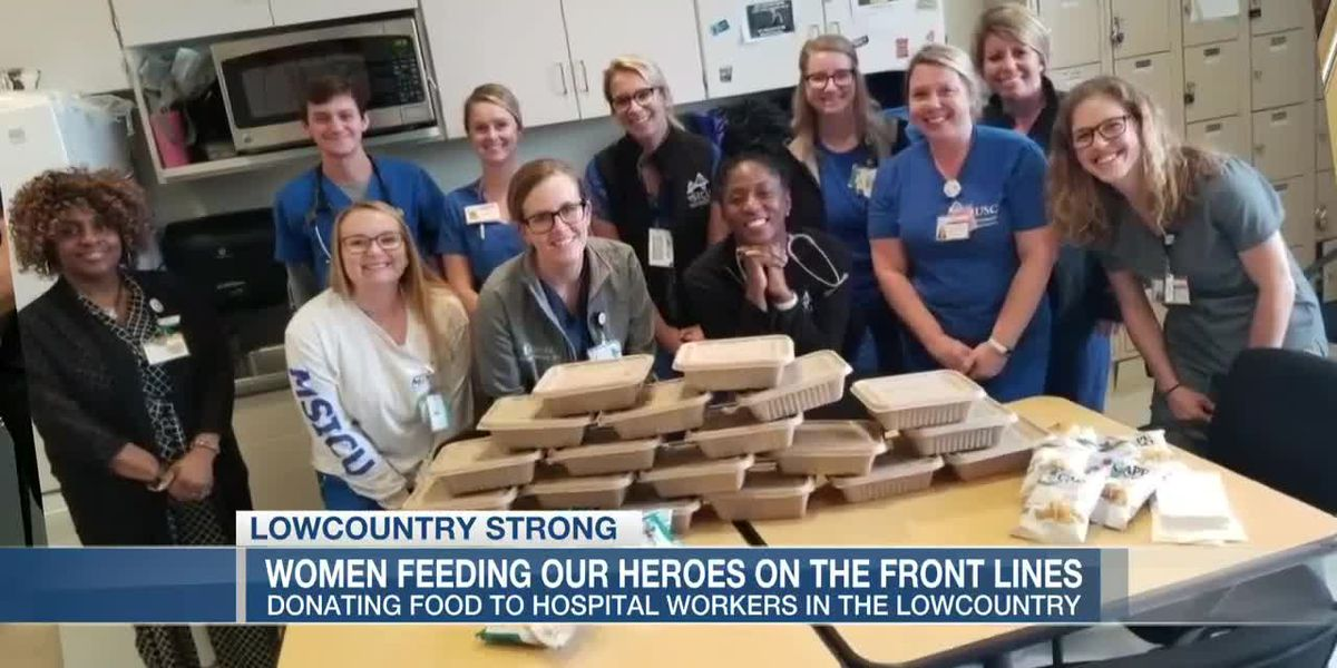 VIDEO: Lowcountry Strong: Mt. Pleasant women 'feeding our heroes' on the front lines