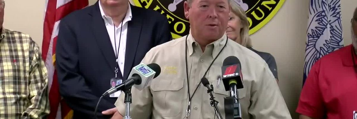 VIDEO: Beaufort county press conference Wednesday