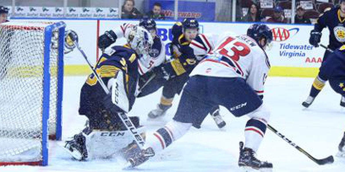 Hurley's Late Strike Gives Admirals Series Win over Stingrays