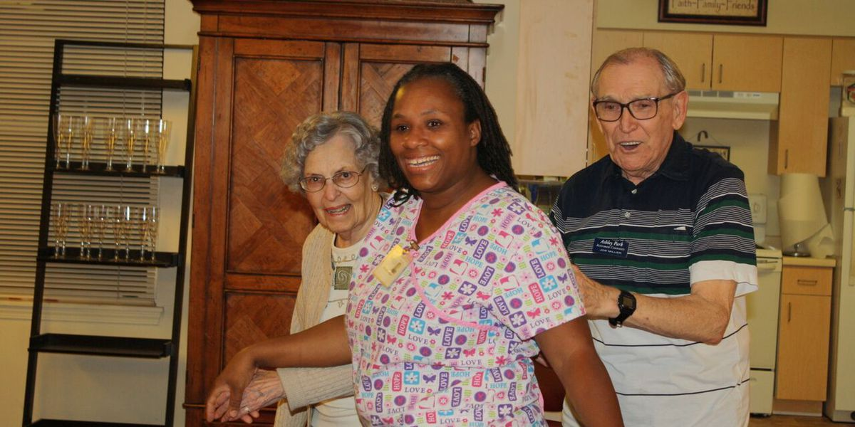 Charleston family surprises woman with Caregiver of the Year award
