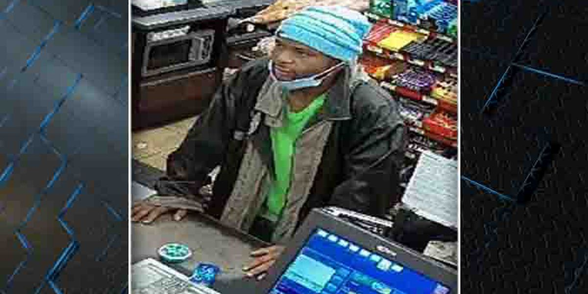 Police searching for man accused of using stolen credit card at gas station