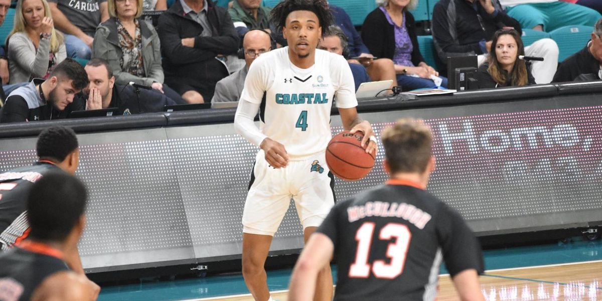 Gumb-Frater, Brewton Lead CCU Past Delaware State