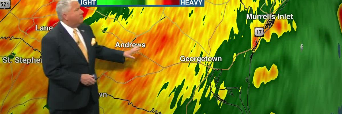 VIDEO: Tornado watches in the Lowcountry expected to expire soon