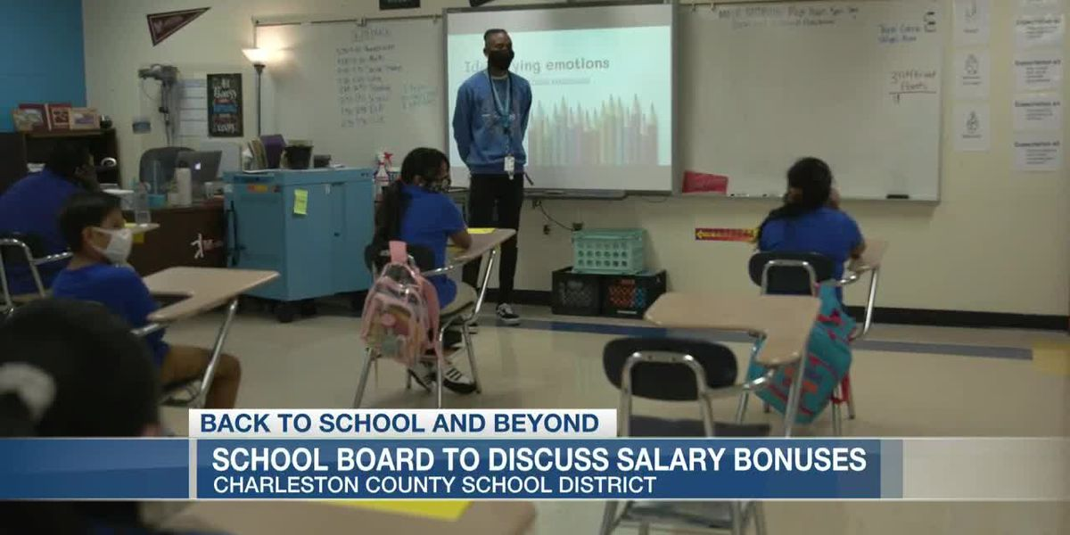 VIDEO: Charleston Co. School Board to discuss $500 teacher bonuses