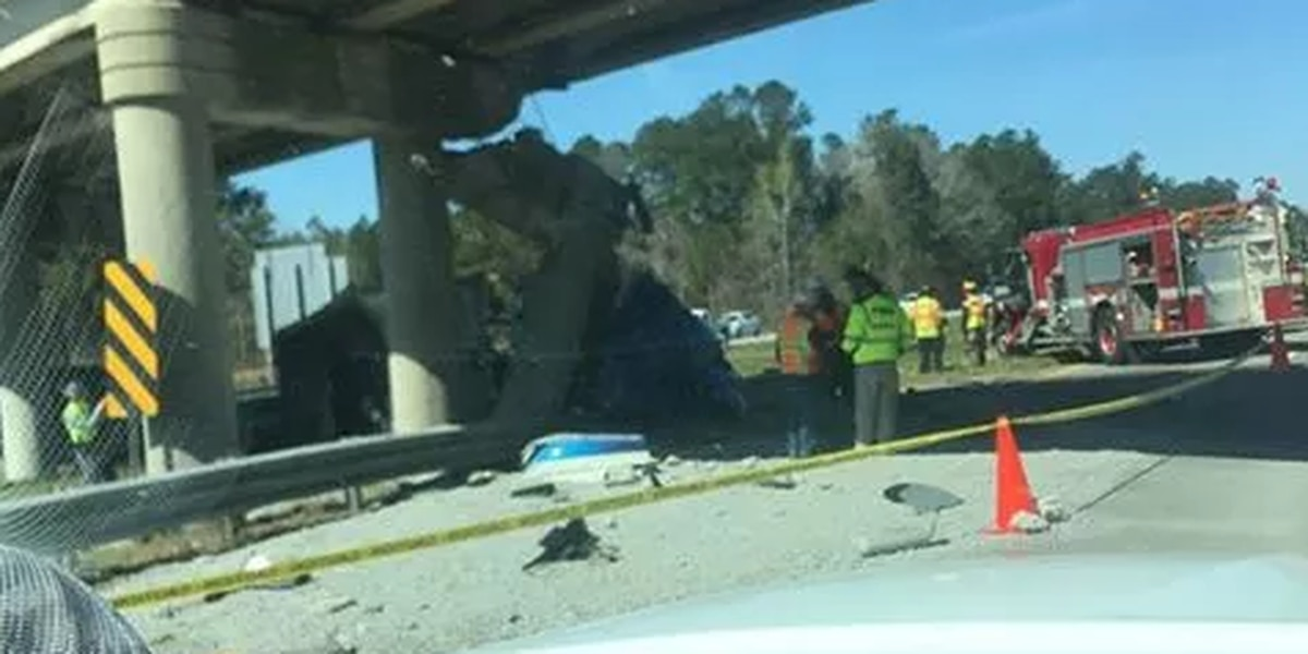 Construction date set for bridge over I-26 torn down after March truck accident