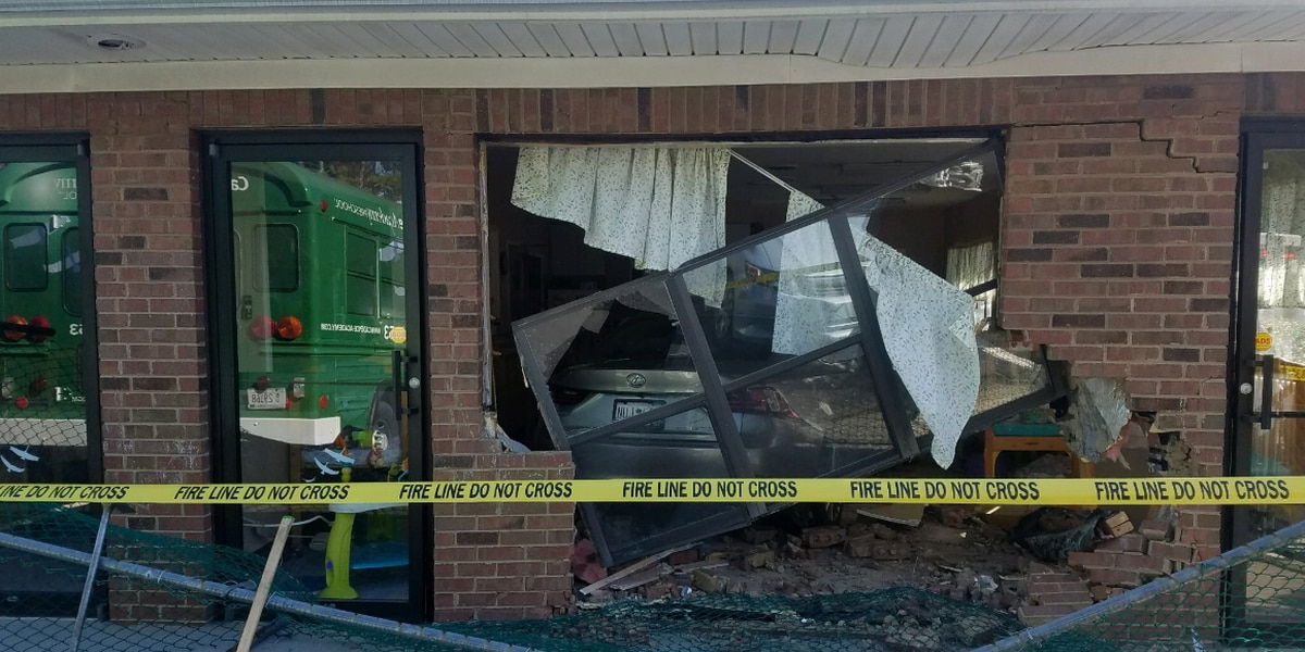 Four children transported to hospital after vehicle hits SC daycare