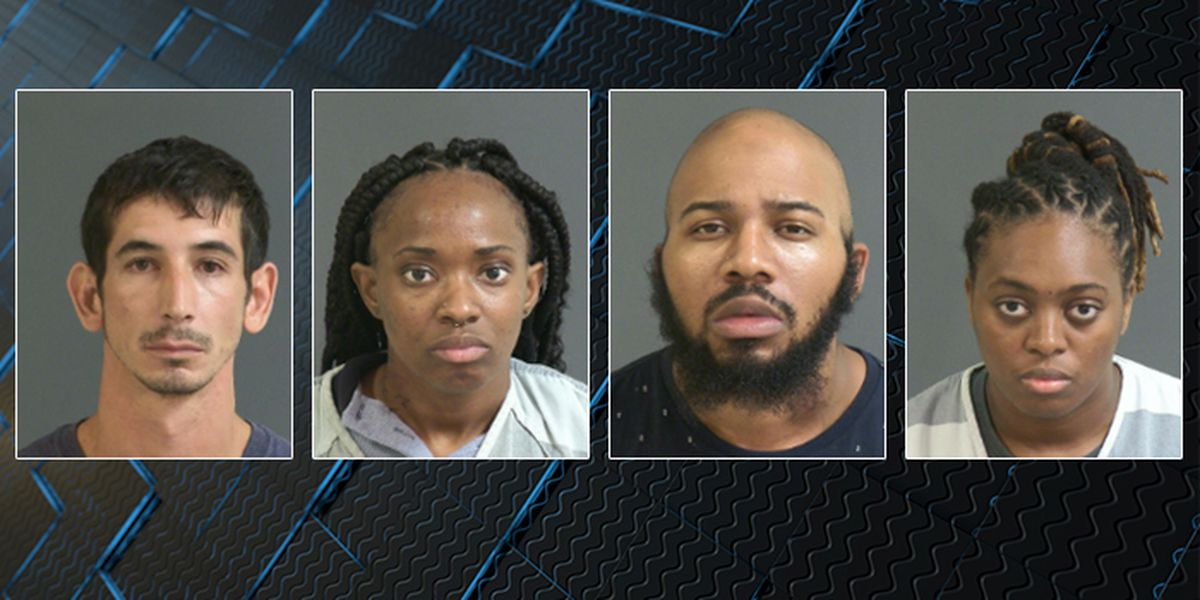 Four postal workers accused of smuggling drugs at N. Charleston post office