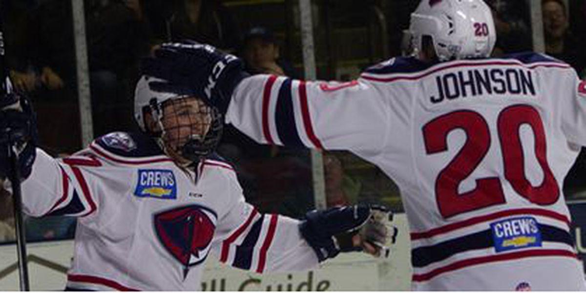Fioretti's Overtime Winner Gives Stingrays Win In Maine