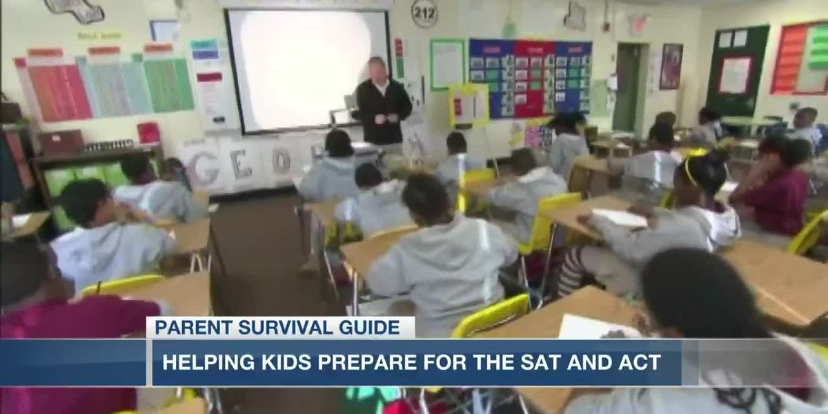 VIDEO: Parent Survival Guide: Helping your child prep for the SAT and ACT