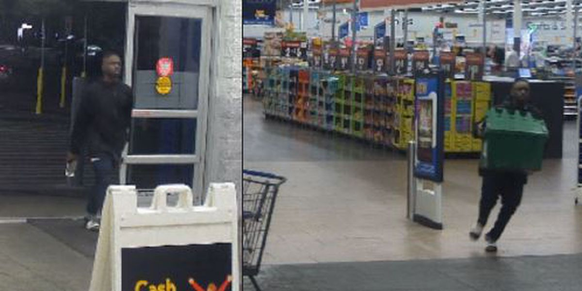 Goose Creek police looking for man who stole container of cigarettes from Walmart