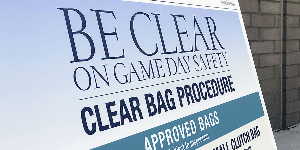 Random searches, clear bag policy coming to some CCSD schools and venues