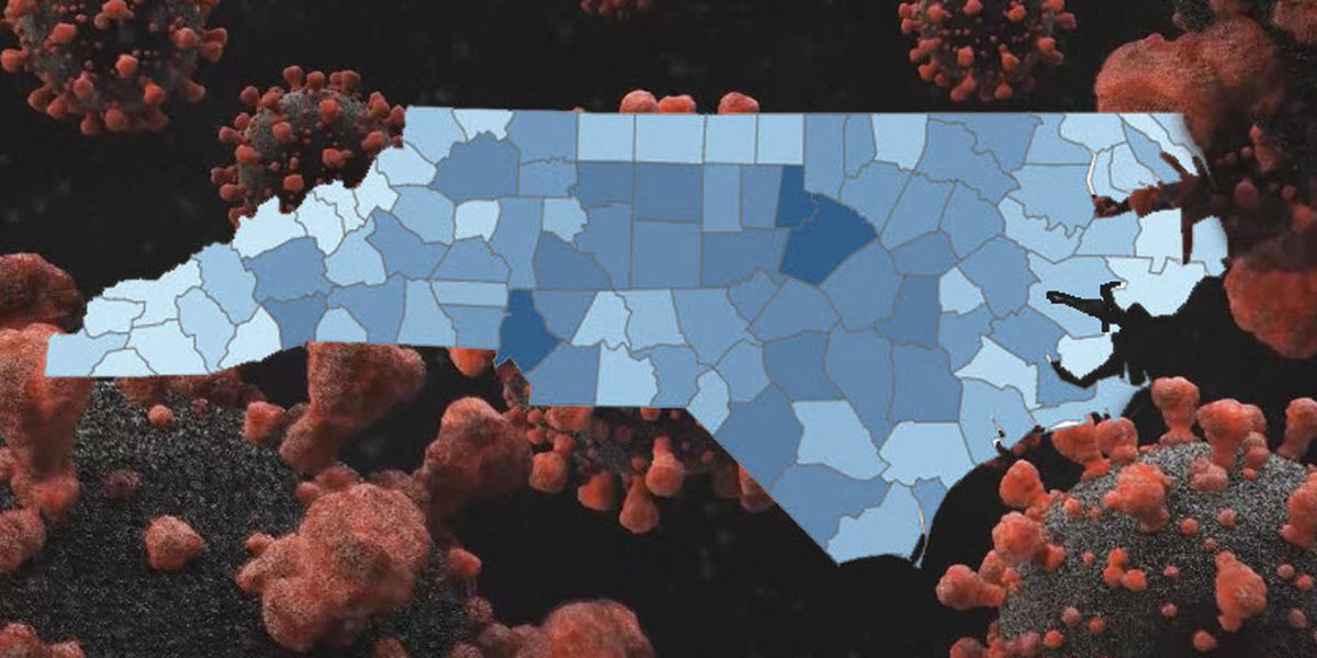 N.C. reports more than 1,900 new coronavirus cases