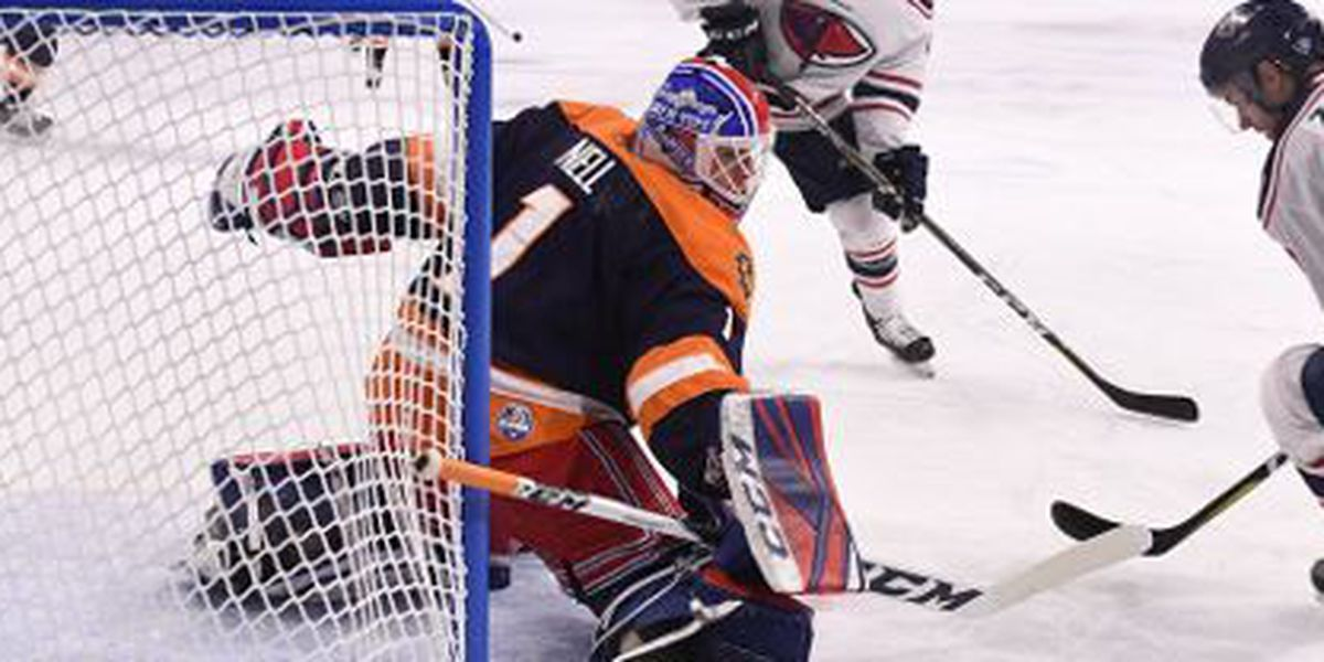 Mitchell Nets Two In Stingrays 5-2 Win Over Greenville