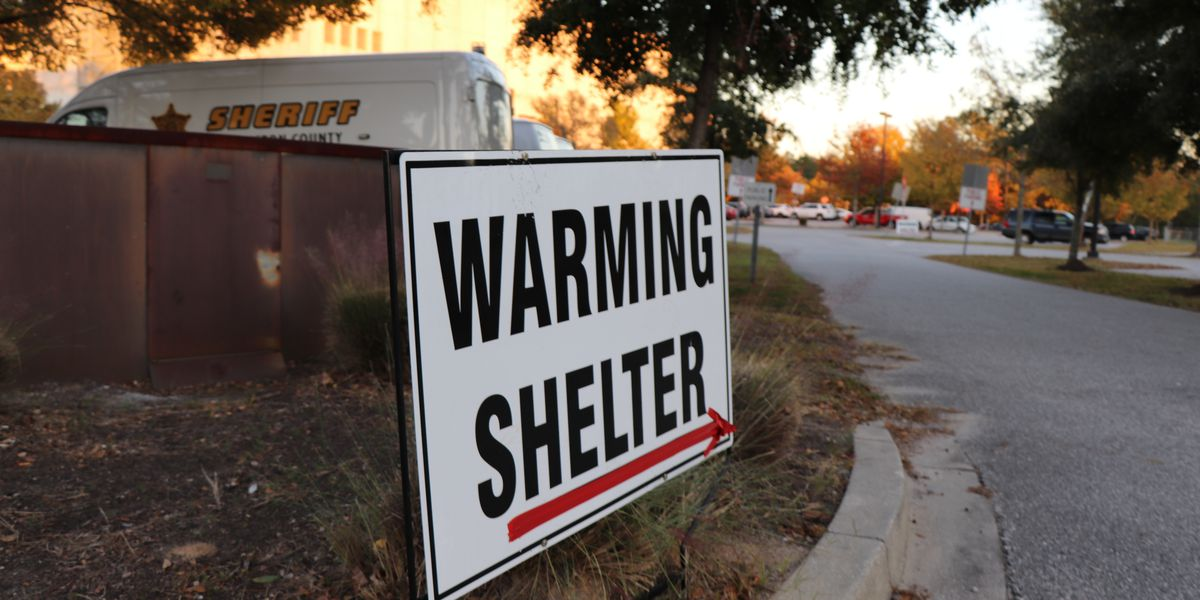 Warming shelter to open in North Charleston