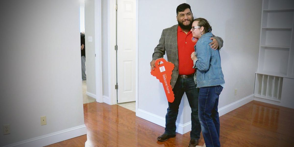 Purple Heart veteran and family receive free home in Mt. Pleasant