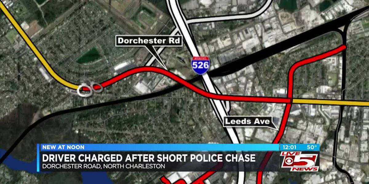 VIDEO: Driver charged after short chase