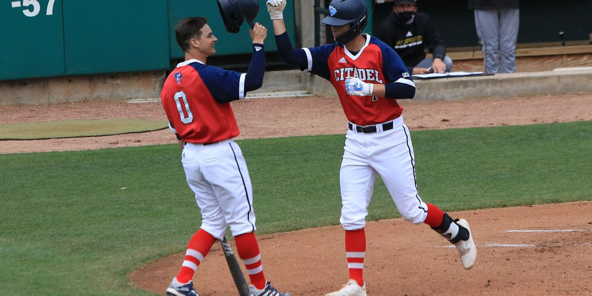 The Citadel splits Friday doubleheader with Wofford