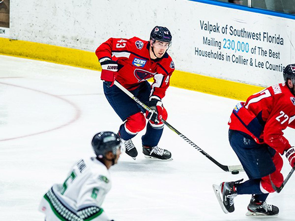3rd Period Comeback Secures Stingrays One Point