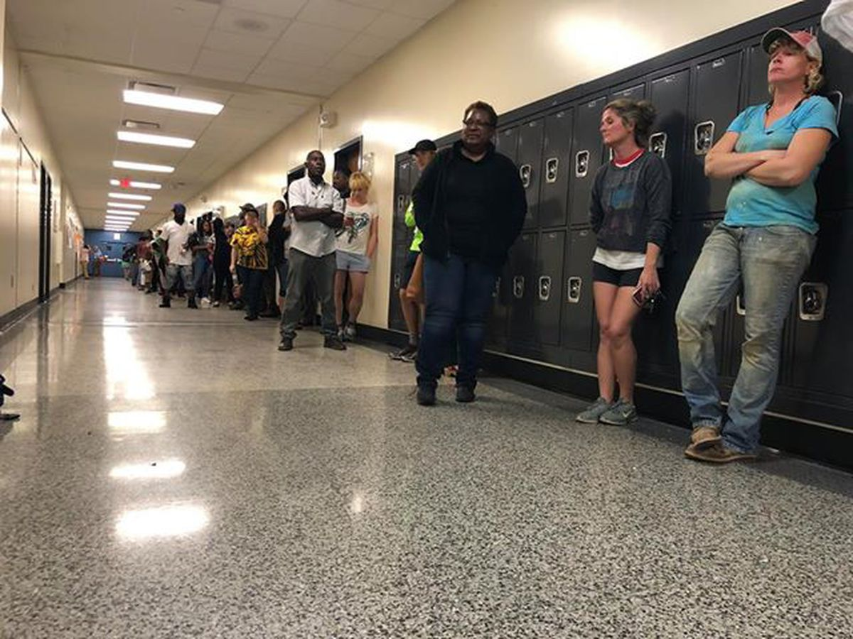 Hours after polls close, final voter casts ballot at Johns Island precinct