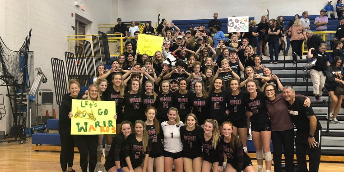 Wando advances to 5-A Volleyball state title game