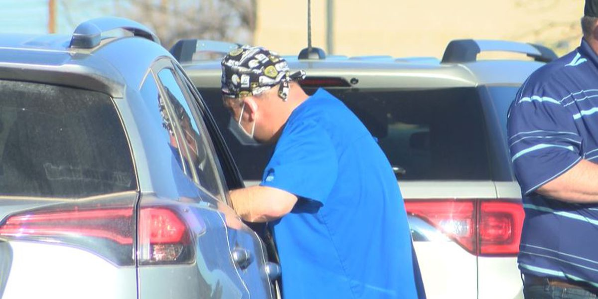 Roper opening more vaccine locations as coliseum drive-thru closes