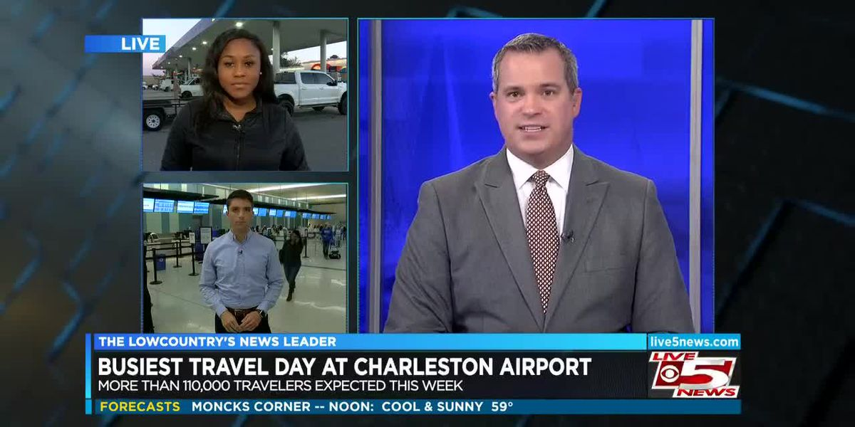 VIDEO: Lowcountry travelers take to roads, skies ahead of Thanksgiving weekend