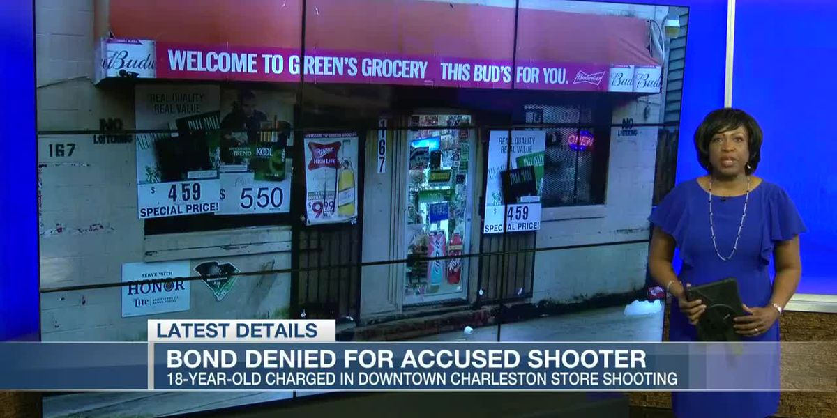 VIDEO: Bond denied for man arrested for shooting at Charleston grocery store