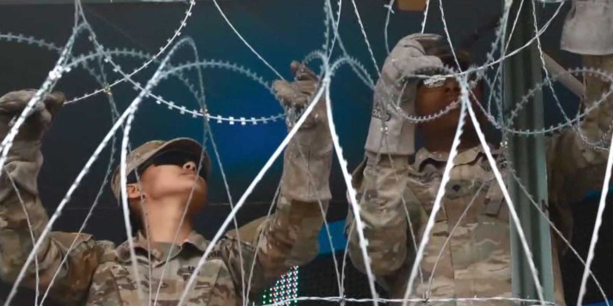 New guidelines issued for troops at southern border