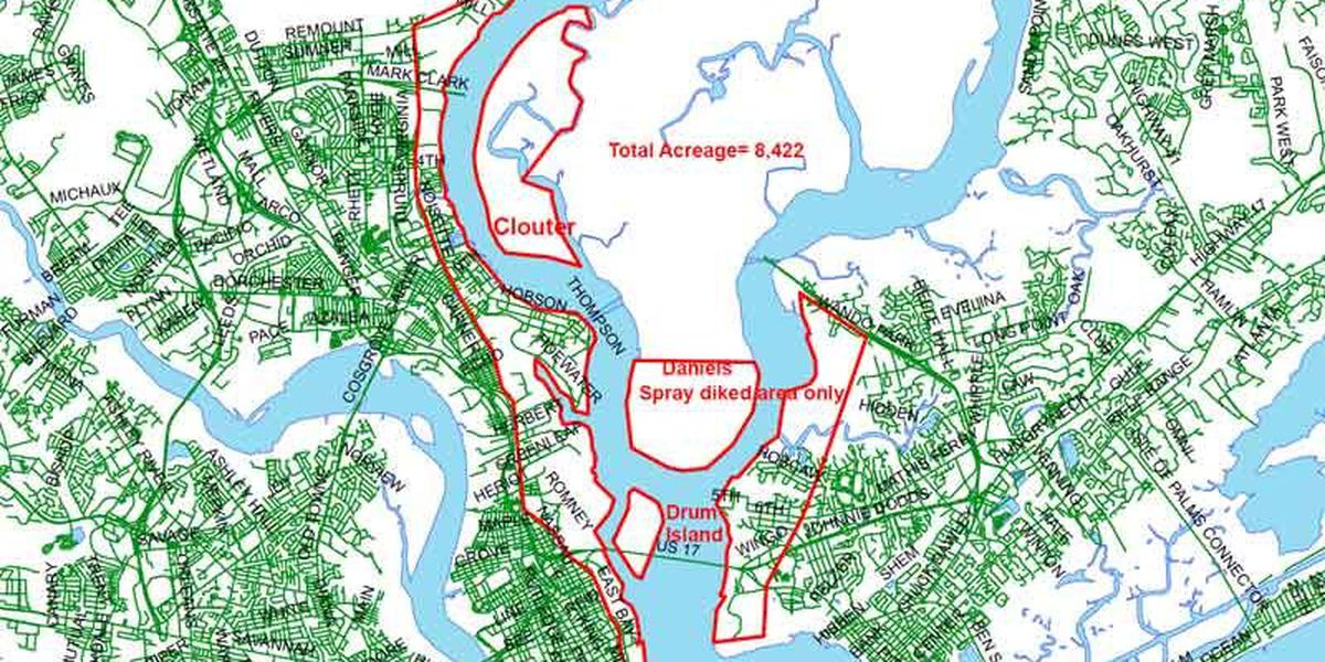 Charleston County mosquito aerial spray set for Thursday