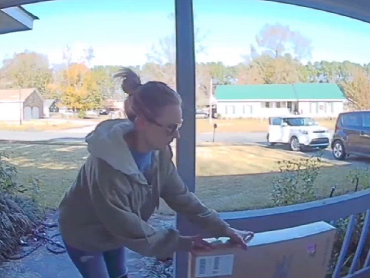 Police arrest suspect caught on camera stealing package from Goose Creek home