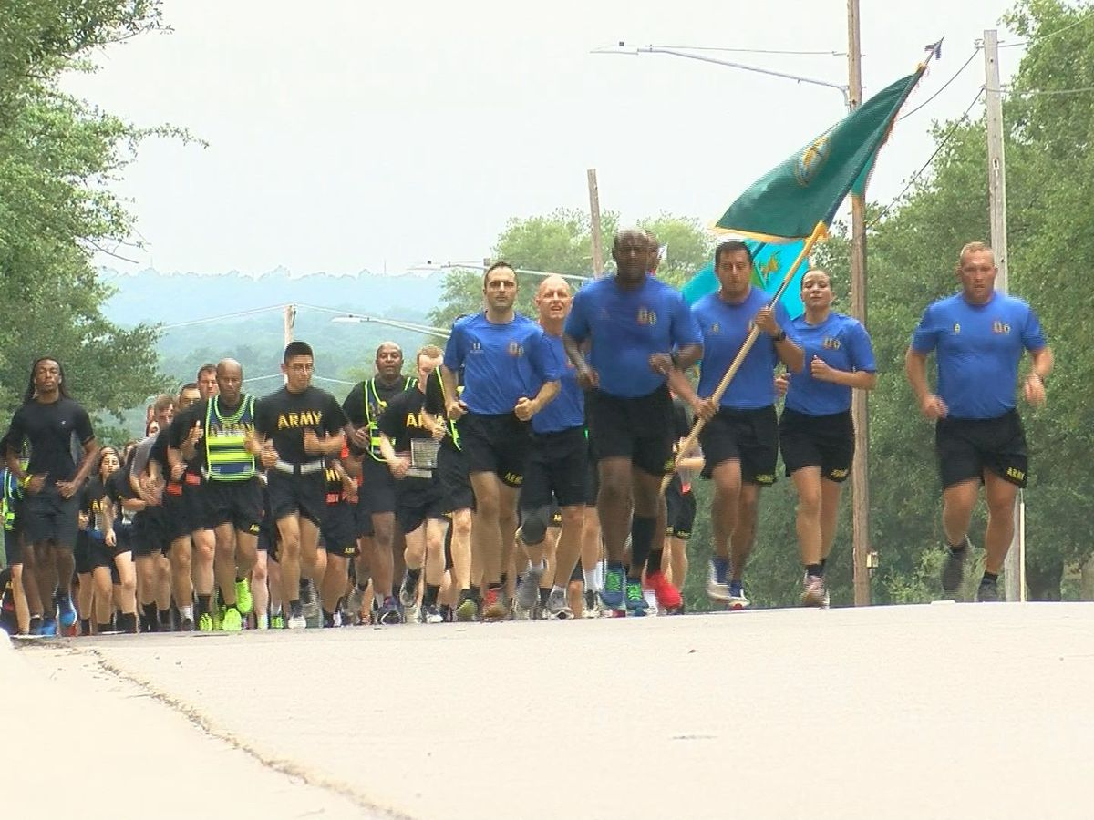 'I will run to death for them': Fort Jackson holds annual Run for the Fallen
