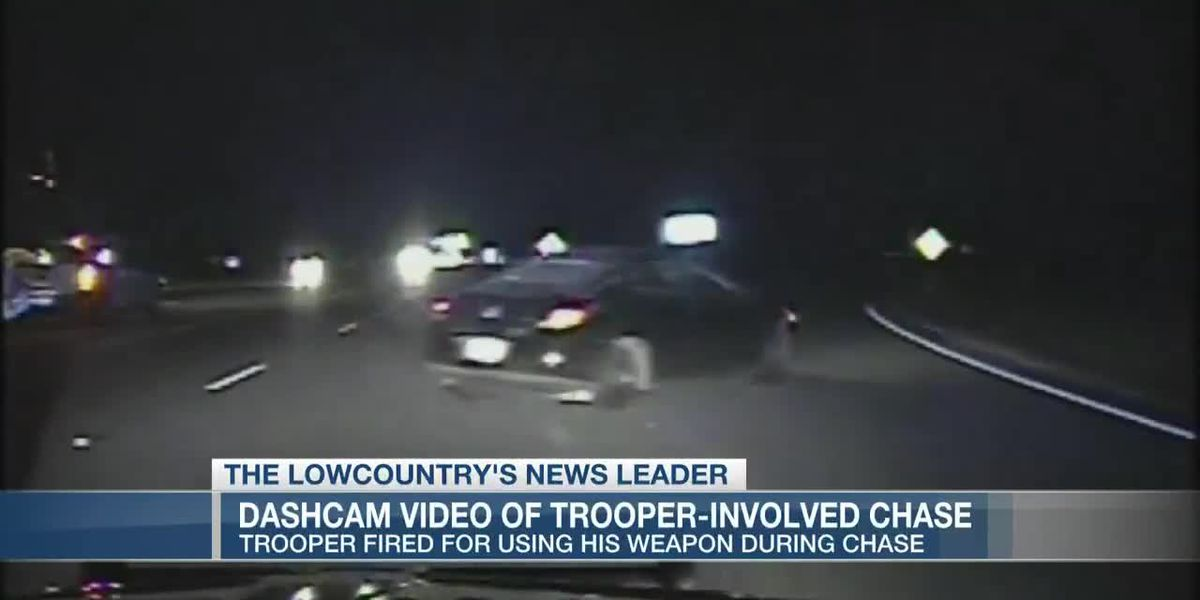 Video released of car chase which led to trooper's firing