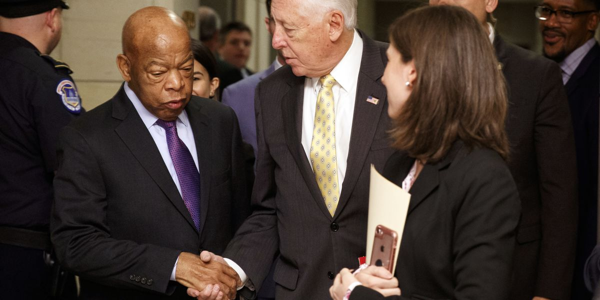 The Latest: House Dems re-elect Hoyer, Clyburn to top roles
