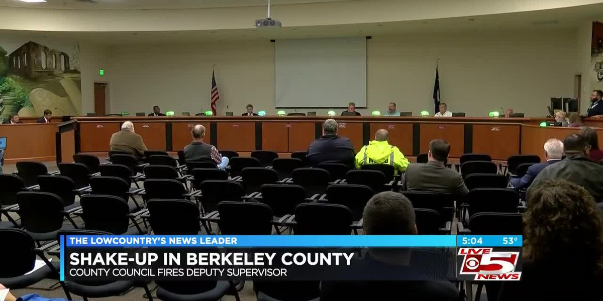 VIDEO: Berkeley County fires deputy supervisor