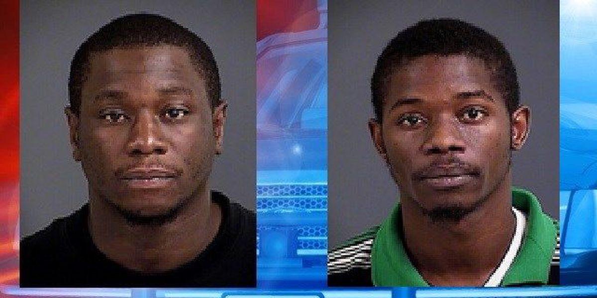 Bond set for 2 men arrested in string of area robberies
