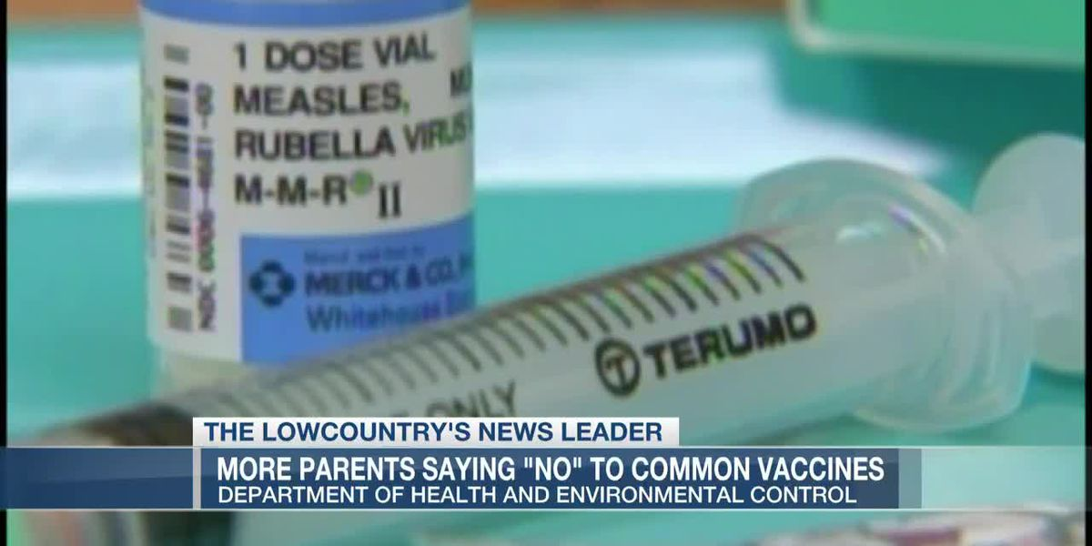 VIDEO: More S.C. parents saying no to common vaccines