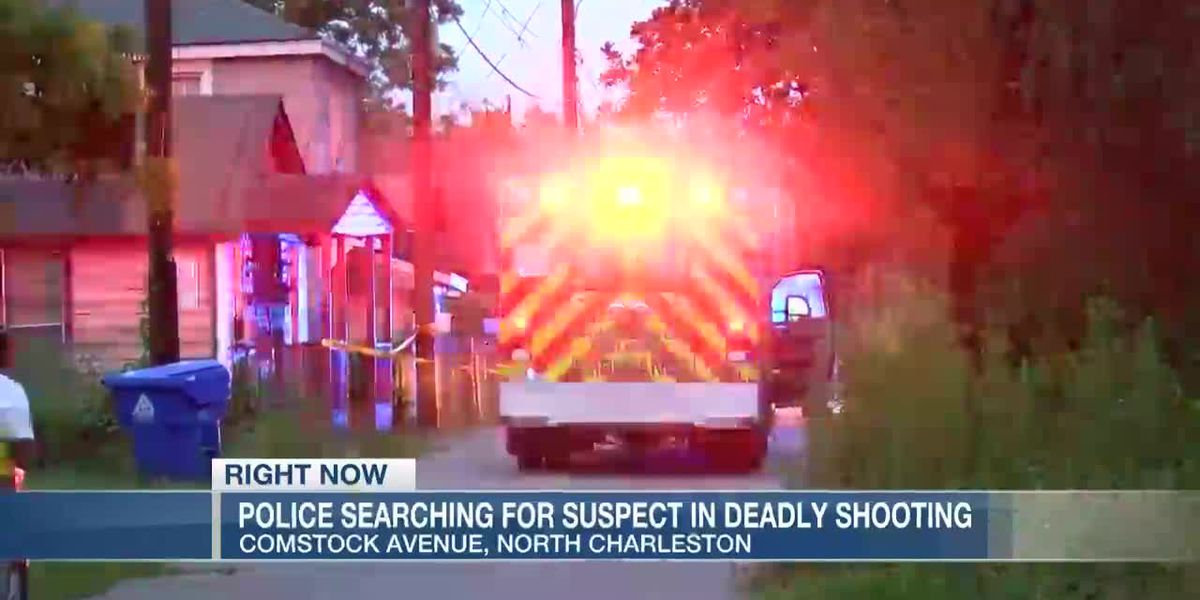 VIDEO: Police search for gunman in fatal N. Charleston shooting