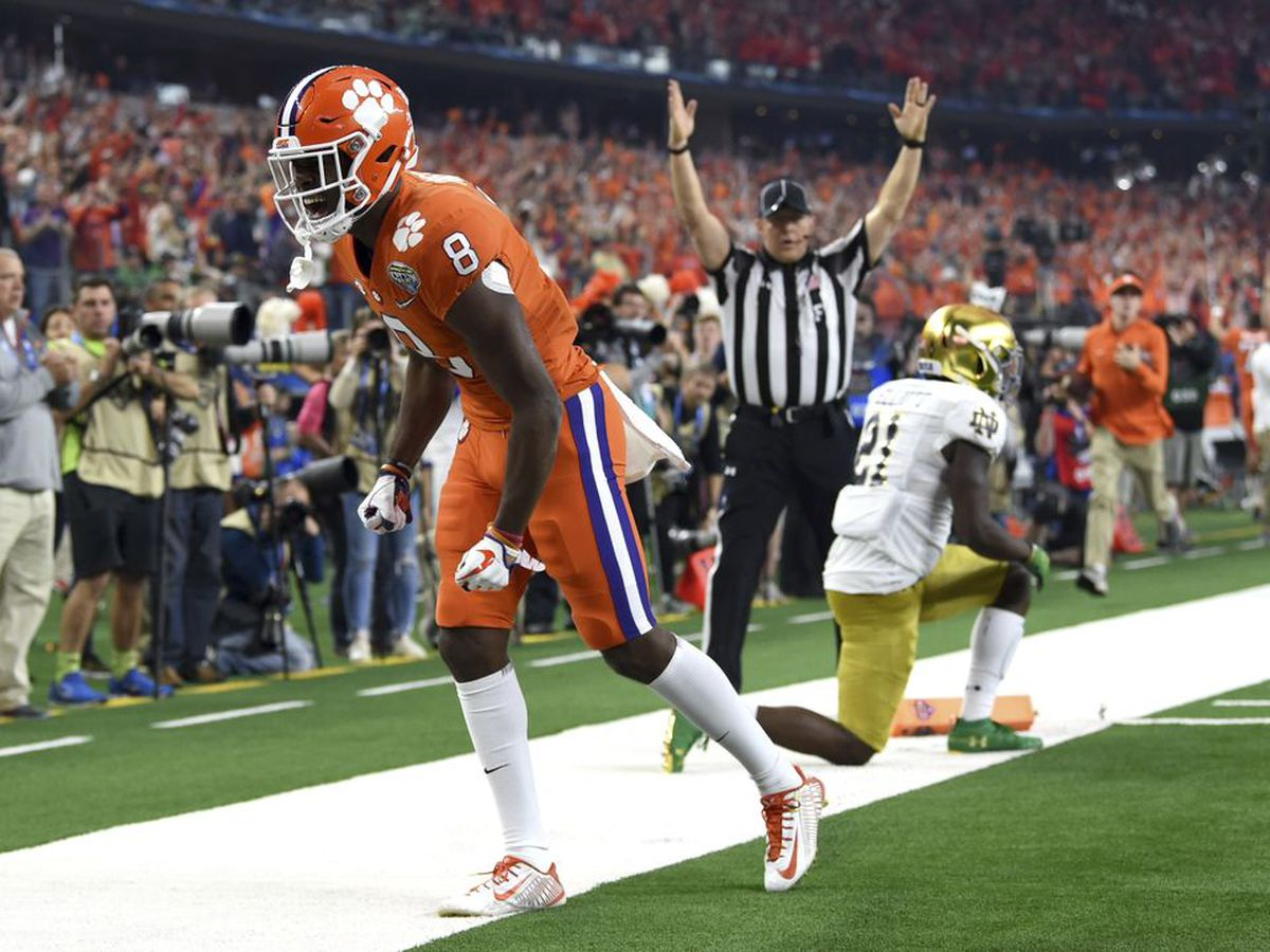 Clemson WR Ross to have shoulder surgery