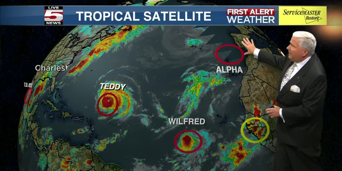VIDEO: FIRST ALERT: Subtropical Storm Alpha, Tropical Storm Wilfred form in Atlantic