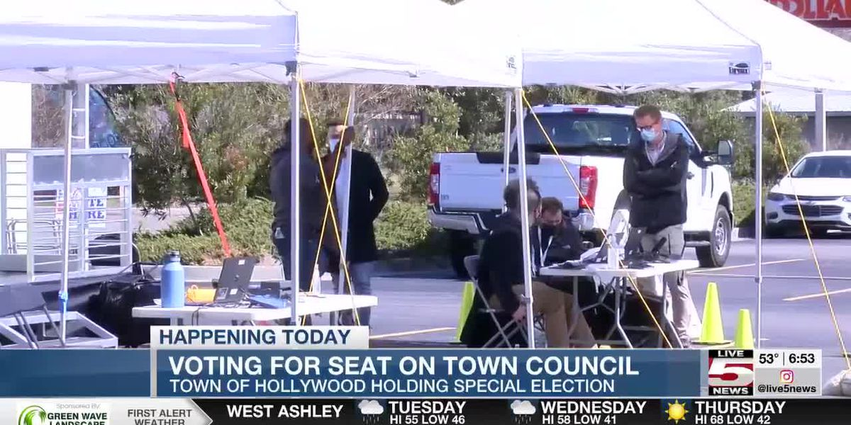 VIDEO: Hollywood Town Council holding special election