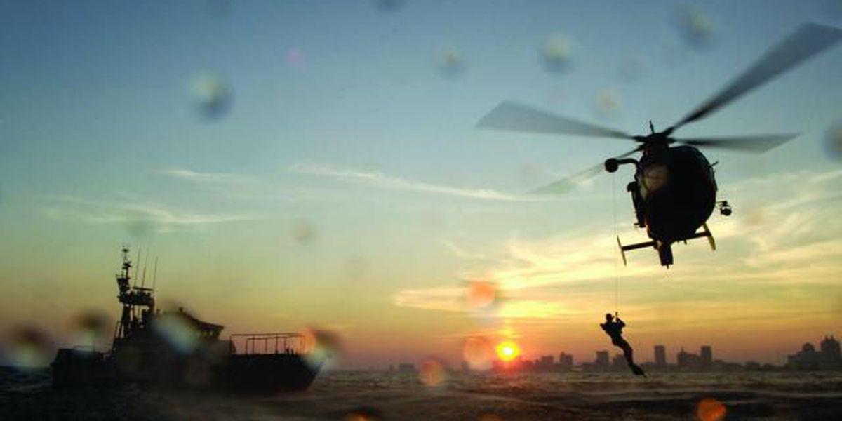 Coast Guard rescues man 60 miles off Charleston coast