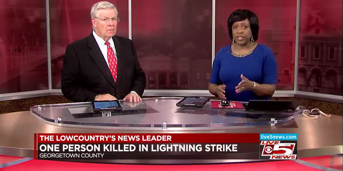 VIDEO: One killed in lightning strike, 2 others hospitalized