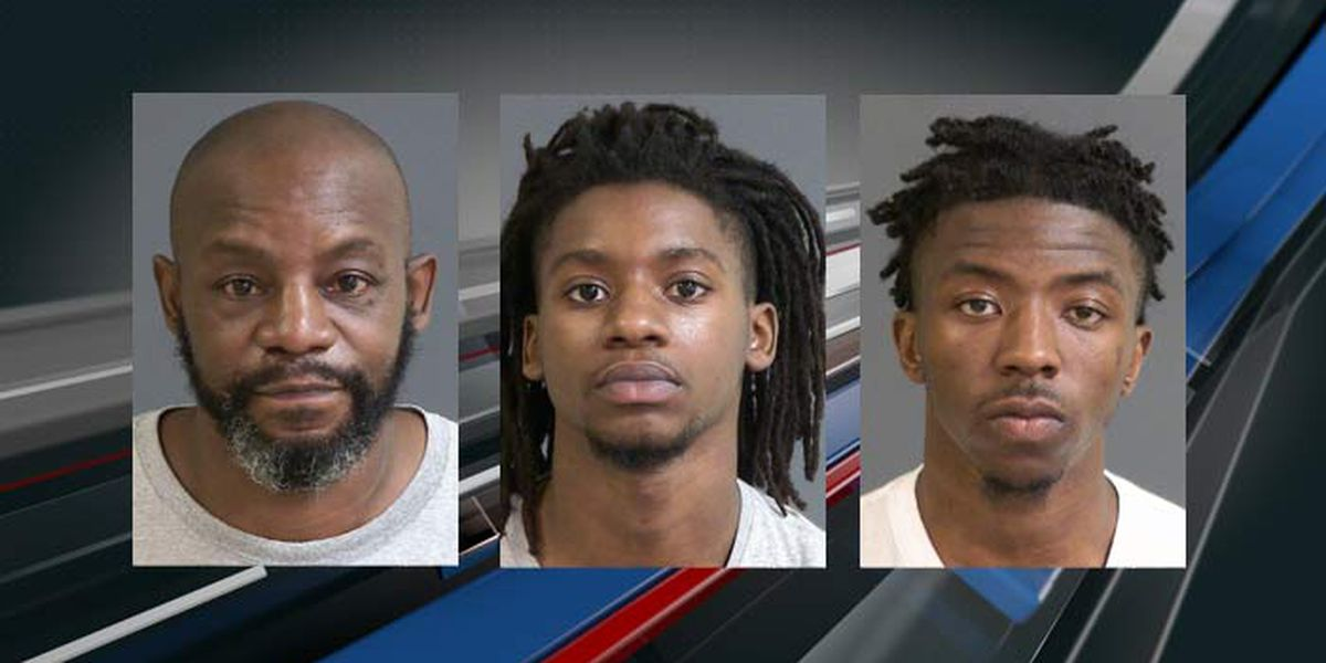 Police arrest 5 on multiple charges after shots fired into home