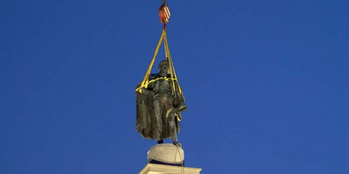 South Carolina ranked as state to remove the fewest Confederate symbols