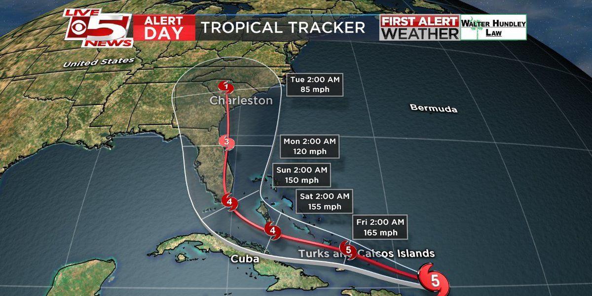 Berkeley County Emergency Operations to move to OPCON 3 ahead of Hurricane Irma